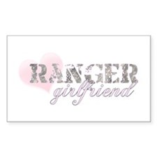 Ranger Girlfriend Rectangle Decal