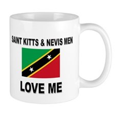 Saint Kitts & Nevis Men Love Me Mug