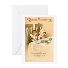Blessed Thanksgiving Greeting Card