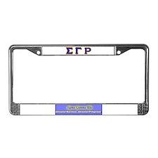 Cute Sigma gamma rho License Plate Frame