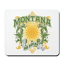 Go Solar Montana Mousepad