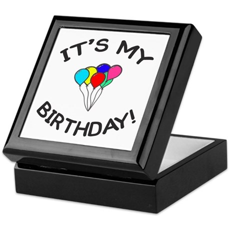 'It's My Birthday!' Keepsake Box