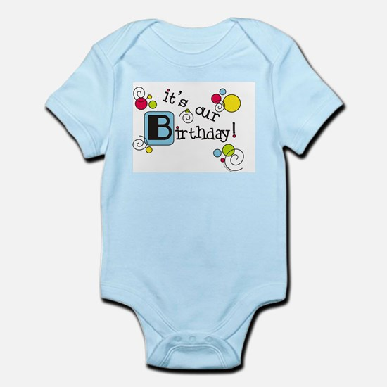 It's Our Birthday Infant Bodysuit