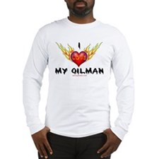 I Love My Oilman Long Sleeve T-Shirt