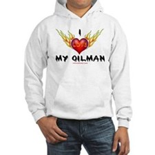 I Love My Oilman Jumper Hoody