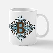 B Monogram Letter B Mug