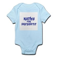Kathy for President Infant Creeper