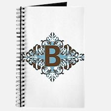 B Monogram Letter B Journal