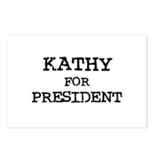Kathy for President Postcards (Package of 8)
