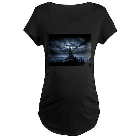 Dragon flight Maternity Dark T-Shirt