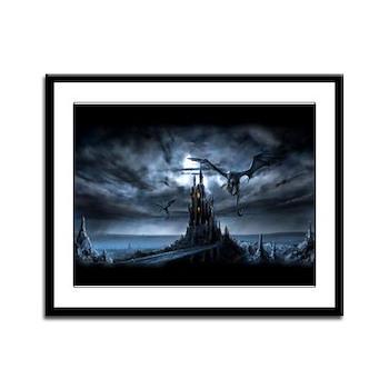 Dragon flight Framed Panel Print