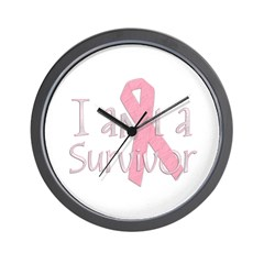 I am a Survivor Wall Clock