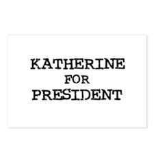 Katherine for President Postcards (Package of 8)