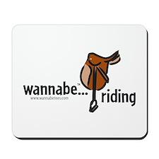 wannabe...riding Mousepad