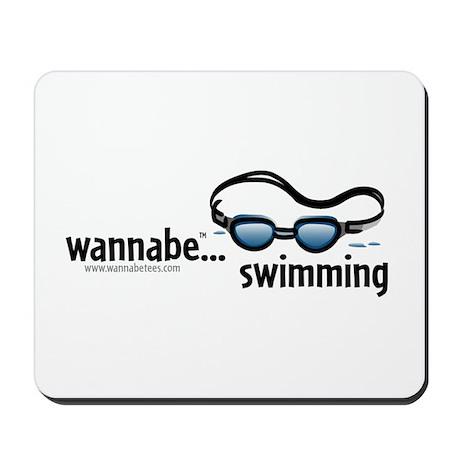 wannabe...swimming Mousepad