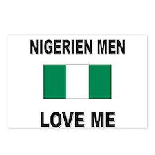 Nigerien Men Love Me Postcards (Package of 8)