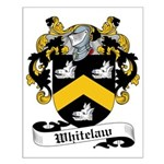 Whitelaw Family Crest Small Poster