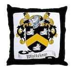 Whitelaw Family Crest Throw Pillow