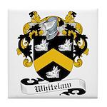 Whitelaw Family Crest Tile Coaster