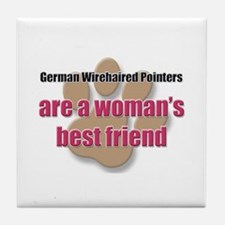 German Wirehaired Pointers woman's best friend Til