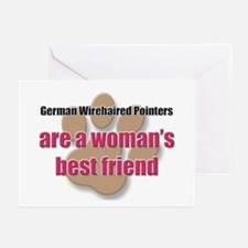 German Wirehaired Pointers woman's best friend Gre