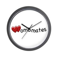 The Wombmates Wall Clock