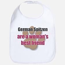 German Spitzen woman's best friend Bib