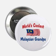 "Coolest Malaysian Grandpa 2.25"" Button"