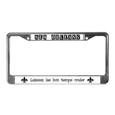 6-NOLA liscence plate License Plate Frame