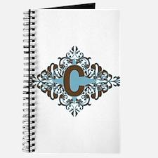 C Monogram Letter C Journal