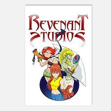 Revenant Studios Postcards (Package of 8)