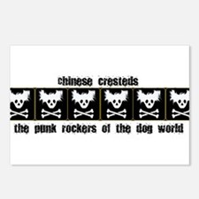 Punk Rock Dogs Postcards (Package of 8)