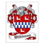 Wilkinson Family Crest Small Poster