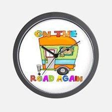 On the road again Wall Clock