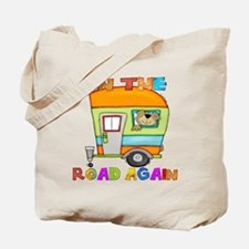 On the road again Tote Bag