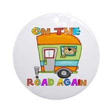 On the road again Ornament (Round)