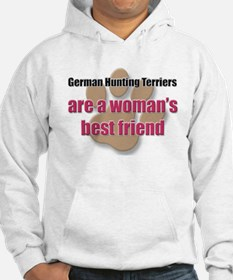 German Hunting Terriers woman's best friend Hoodie