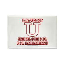 Rageon University Rectangle Magnet