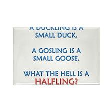 Halfling Lings Rectangle Magnet