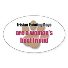 Frisian Pointing Dogs woman's best friend Decal