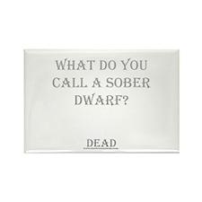 Sober Dwarf Rectangle Magnet