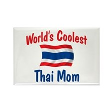 Coolest Thai Mom Rectangle Magnet