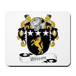 Wilson Family Crest Mousepad