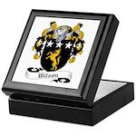 Wilson Family Crest Keepsake Box