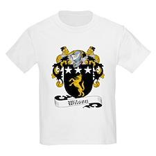 Wilson Family Crest Kids T-Shirt
