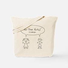 Tree Nut Allergy Tote Bag for Kids