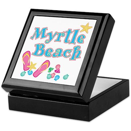 Myrtle Beach Flip-Flops - Keepsake Box