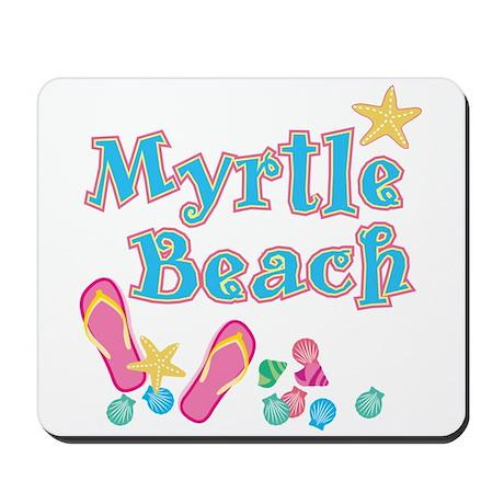 Myrtle Beach Flip-Flops - Mousepad