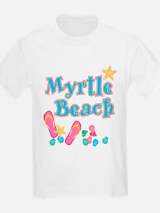 Myrtle Beach Flip-Flops - T-Shirt