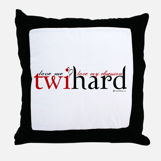 Twihard Throw Pillow